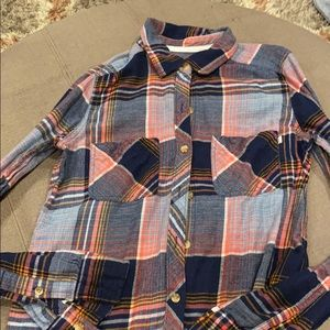 Abercrombie plaid button down size XS